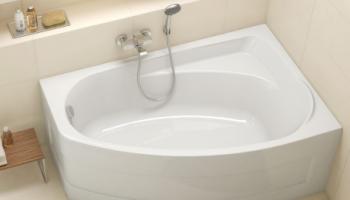 Как выбрать форму ванны?