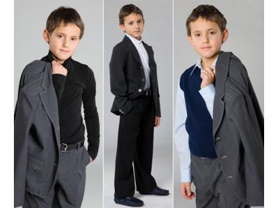 Как выбрать костюм для мальчика в школу?