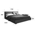 Мягкие кровати Кровать Toronto Woodsoft
