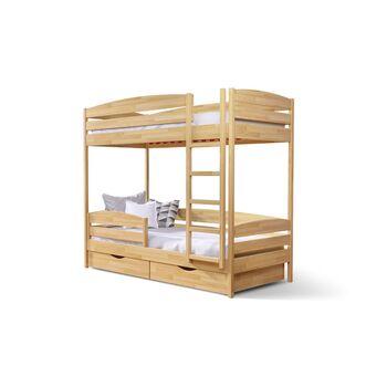 Кровать двухъярусная Дуэт Плюс Бук масив Эстелла 90x200