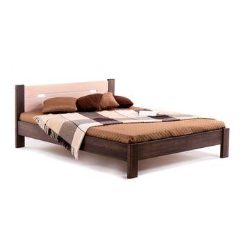 Кровать Селена Плюс Комби Бук щит Клен 160x200
