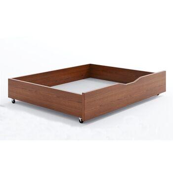 Ящик выкатной под кровать Бук Camelia 130x70x21