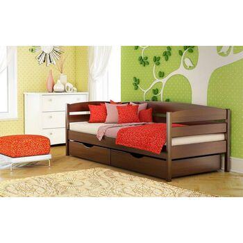 Кровать Нота Плюс Бук массив Эстелла 90x190
